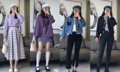 Cô gái cao 160cm có thể mặc theo một loạt phong cách Hàn Quốc mùa thu siêu đẹp này