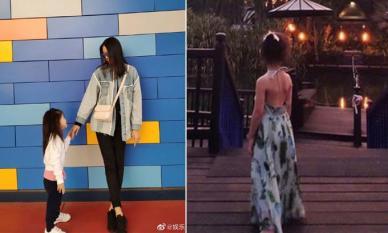 Con gái Hoa hậu Thế giới Trương Tử Lâm mới 4 tuổi đã gây sốt với đôi chân dài vượt trội, đúng chuẩn là mỹ nhân tương lai đây rồi
