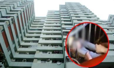 Cậu bé 2 tuổi rơi từ tầng 13, hàng xóm ngay tầng dưới tóm được trong gang tấc