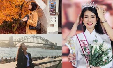 Trước khi đăng quang, Á hậu Phương Anh từng đi du lịch vòng quanh thế giới