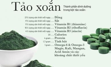 10 lý do bạn nên dùng tảo xoắn mỗi ngày
