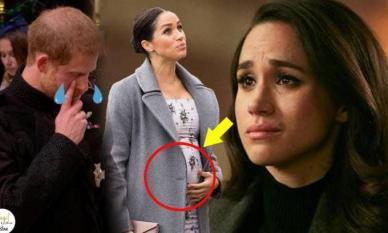 Meghan gây sốc khi tiết lộ bị sảy thai con thứ hai vào tháng 7 vừa qua, phản ứng của Harry mới đáng nói