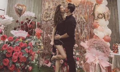 Mới sinh chưa tròn tháng, Hà Hồ đã dám làm điều này với Kim Lý trong ngày sinh nhật