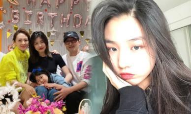 Chương Tử Di tổ chức sinh nhật cho con gái riêng của chồng, cô bé 15 tuổi cao 1m70 đẹp không thua mẹ kế