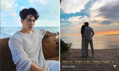 Giám đốc Việt kiều - Huy Trần hé lộ vóc dáng cao ráo, tóc dài bồng bềnh của bạn gái mới