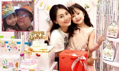 Diễn viên Thanh Hiền tổ chức sinh nhật ấm cúng cho con gái, chồng cũ Gia Bảo vắng mặt