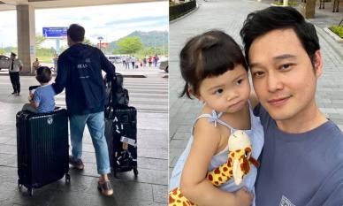 Quang Vinh đưa cháu gái đi du lịch, nhìn ảnh mới thấy 'Hoàng tử sơn ca' cưng nựng Chaiko như thế nào