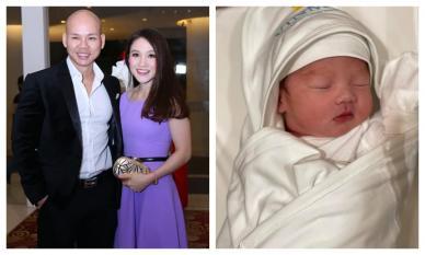 Phan Đinh Tùng đón con trai thứ hai chào đời cực kháu khỉnh