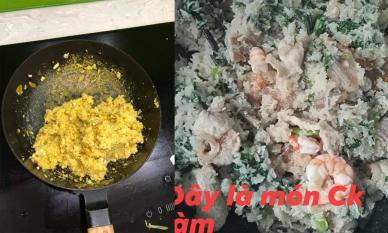 Khi các ông chồng cao hứng vào bếp, nhưng các bà vợ chỉ dám nhìn chứ không dám ăn