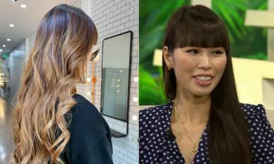 Siêu mẫu Hà Anh 'chơi lớn' khi đổi kiểu tóc, fan nức nở khen hợp và trông 'Tây quá'