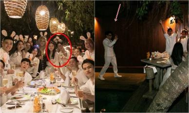 Huy Trần đứng tình tứ bên cạnh Ngô Thanh Vân, 'đàng trai' ra mắt hội bạn Vbiz trong tiệc sinh nhật hoành tráng