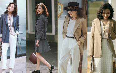 Không nhất thiết phải mặc quần tây dưới áo vest, những cách kết hợp này đang thịnh hành đầu xuân năm nay, rất phù hợp với phụ nữ 40+
