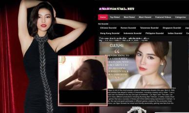 Xôn xao nghi án Ninh Dương Lan Ngọc bất ngờ lộ clip giường chiếu 'nhạy cảm' trên trang web đen?