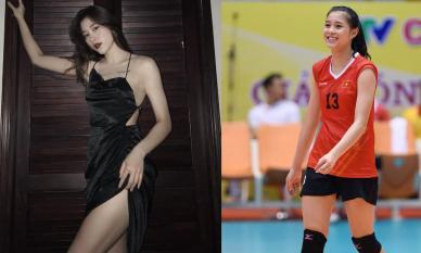 Nhan sắc xinh đẹp và nóng bỏng của Hoa khôi bóng chuyền bất ngờ giải nghệ ở tuổi 19
