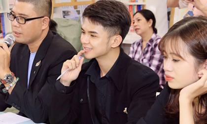 """Diễn viên Hoàng Công Đạt đồng hành cùng cuộc thi """"Tìm kiếm tài năng MC nhí"""""""