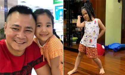 Con gái Tự Long: Trò bốn tuổi, gương mặt đã hội tụ đủ nét duyên ngầm từ bố