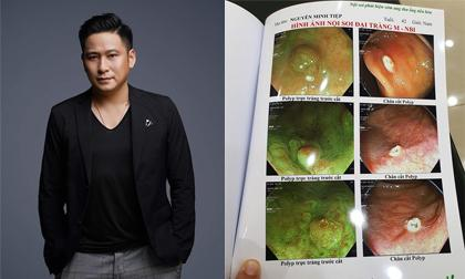Sau 5 ngày lo lắng vì sợ bị polyp dạ dày, đại tràng ác tính, diễn viên Minh Tiệp tiết lộ kết quả sinh khiết