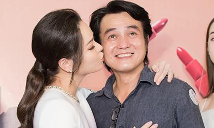 Nhật Kim Anh hôn Cao Minh Đạt giữa lùm xùm với chồng cũ