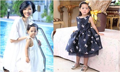 Con gái nhỏ đáng yêu sau 9 năm chờ đợi của siêu mẫu Vũ Cẩm Nhung