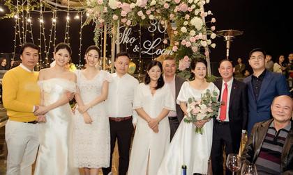 Hai nàng Á hậu Trà My, Thanh Tú tổ chức kỉ niệm 30 năm ngày cưới hoành tráng cho bố mẹ