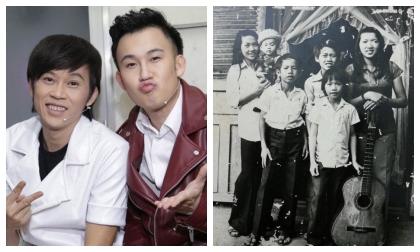 Mừng sinh nhật danh hài Hoài Linh, Dương Triệu Vũ bá đạo tung luôn ảnh thuở bé của hai anh em