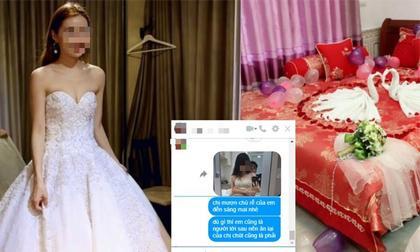 Cô dâu chấm dứt cuộc hôn nhân kéo dài chưa đầy 48 tiếng khi nhận được tin nhắn 'cưới chị mà anh ấy lại động phòng với em'