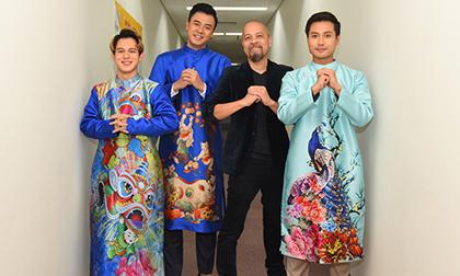 Dàn diễn viên truyền hình đình đám xúng xính diện áo dài của NTK Đức Hùng