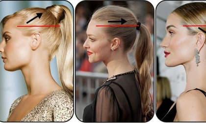 Chọn kiểu tóc đuôi ngựa phù hợp với từng hình dạng khuôn mặt