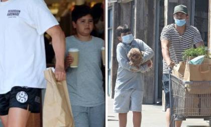Con trai của Miranda Kerr và Orlando Bloom lớn phổng nhưng vẫn mũm mĩm và đáng yêu ở tuổi lên 9