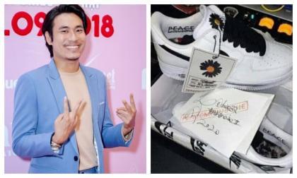 Khoe được tặng giày G-Dragon thiết kế, Kiều Minh Tuấn bị bóc phốt 'sống ảo'