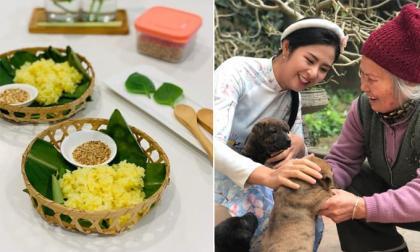 Hoa hậu Ngọc Hân chia sẻ công thức nấu xôi đậu xanh của bà ngoại: Món ngon trong ký ức của nhiều người