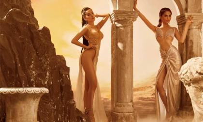 Hội 'chị chị em em' Ngọc Trinh - Chi Pu đẹp hút hồn trong bộ ảnh mới