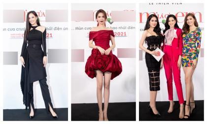 Ngọc Trinh hoá bông hồng rực rỡ lấn lướt cả top 3 Hoa hậu Việt Nam 2020