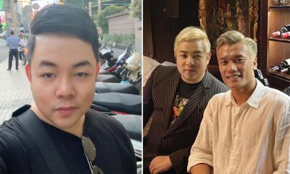 Quang Lê đăng ảnh bên thủ môn Bùi Tiến Dũng, fans rần rần vì mái tóc mới