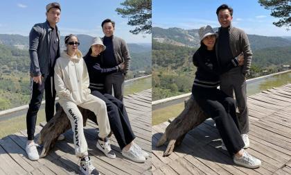 Cường Đô La và Đàm Thu Trang trốn con đi du lịch Đà Lạt cùng vợ chồng Diệp Lâm Anh
