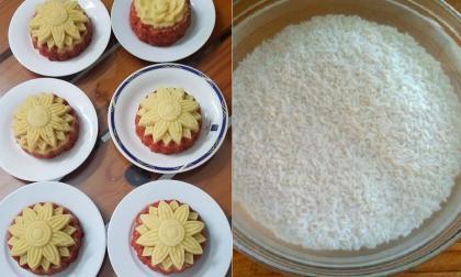 Nấu xôi gấc đừng quên bỏ thứ này vào khi đang ngâm để gạo đỗ không bị chua