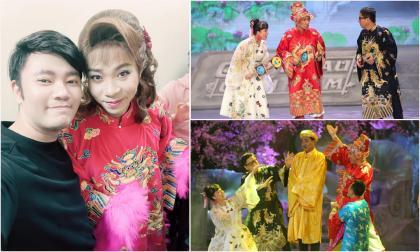 Hé lộ loạt ảnh hậu trường và sân khấu đêm ghi hình đầu tiên của Táo Quân 2021