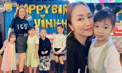 Con gái cố diễn viên Mai Phương đến dự sinh nhật con trai Ốc Thanh Vân