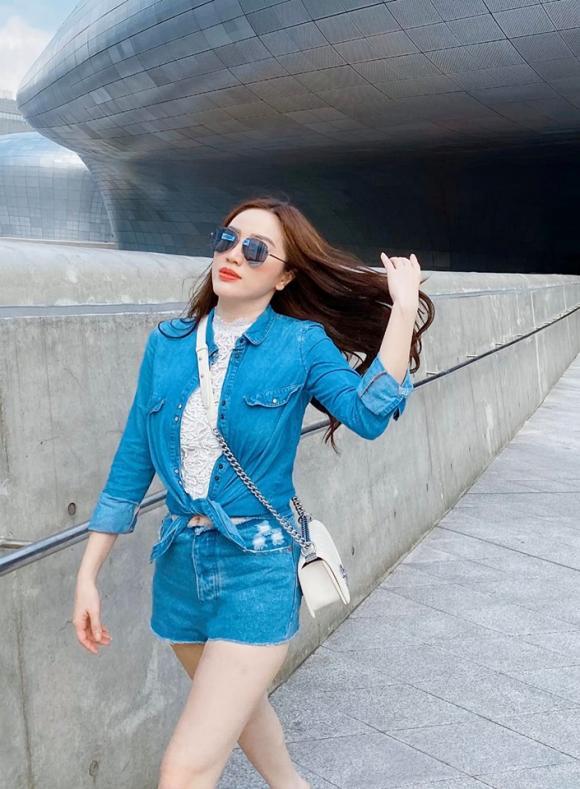 Bảo Thy, Bảo Thy du lịch Hàn Quốc, sao du lịch