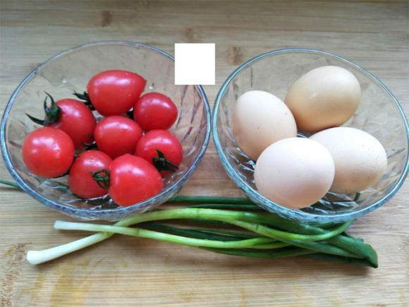 trứng, cà chua, món ăn