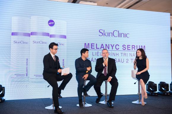 SkinClinic, SkinClinic - Làn da khỏe cho người Việt, Hoàng Thùy Linh