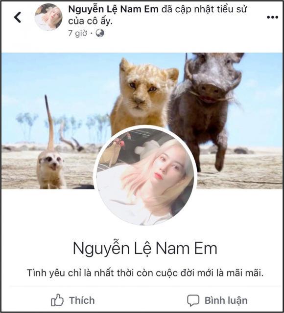 hoa khôi Nam Em, người yêu nam em, sao Việt
