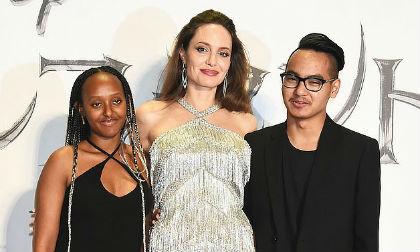 Angelina Jolie, lễ ra mắt phim Maleficent 2, biệt thự của Angelina Jolie