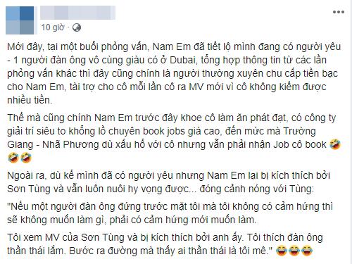Nam Em,  sao Việt
