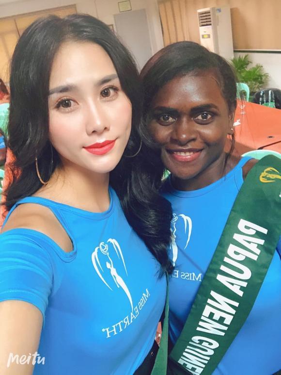 á hậu Hoàng Hạnh, Miss Earth 2019, sao Việt