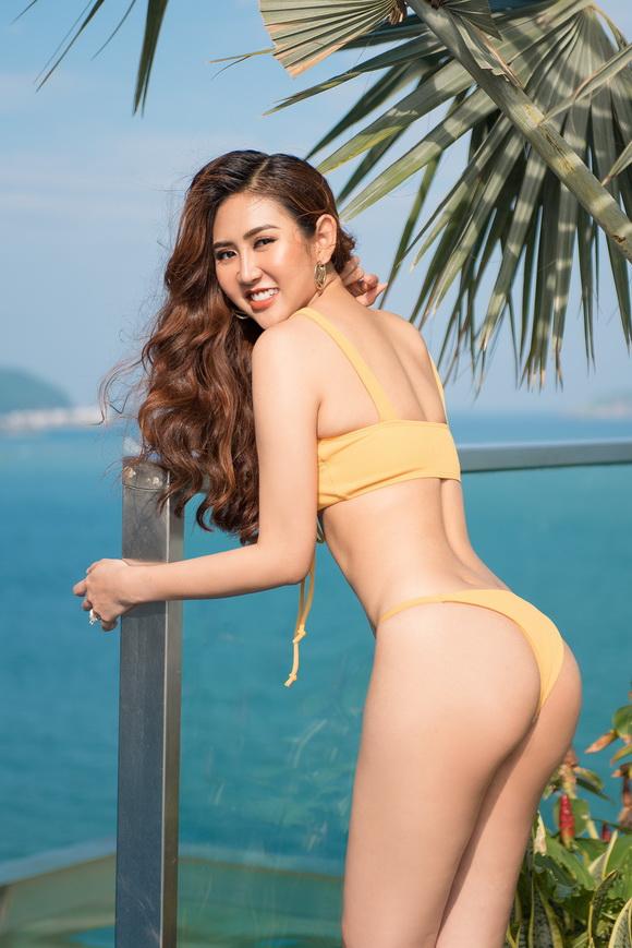 Á hậu Miss All Nations, Á hậu Trúc Ny, Sao việt