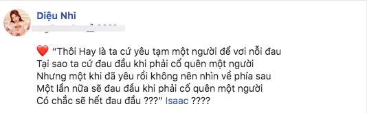 Diệu Nhi, Isaac, Anh Tú, sao Việt
