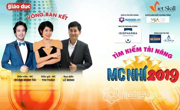 Đoàn Minh Tài, Tìm kiếm tài năng MC nhí 2019