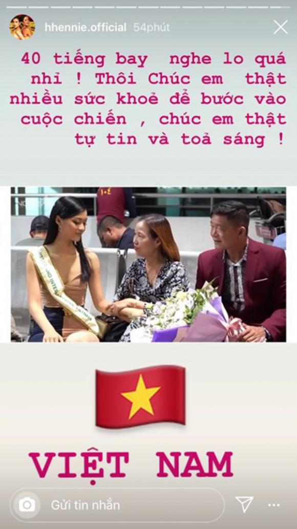 hoa hậu H'Hen Nie, á hậu Kiều Loan, Miss World Việt Nam 2019, Hoa hậu Thế giới Việt Nam 2019, sao Việt