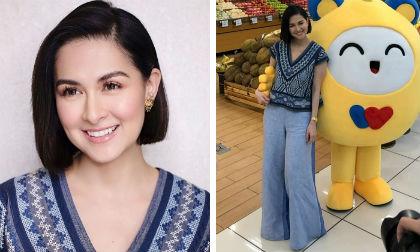 mỹ nhân đẹp nhất Philippines,con gái mỹ nhân đẹp nhất Philippines,Marian Rivera,sao Philippines